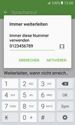 Samsung Galaxy Xcover 3 VE - Anrufe - Rufumleitungen setzen und löschen - 1 / 1