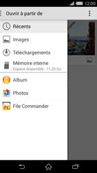 Sony Xperia Z2 (D6503) - E-mail - Envoi d