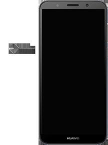 Huawei Y5 (2018) - Device - Insert SIM card - Step 2