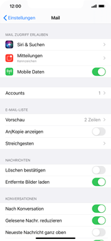 Apple iPhone 11 - iOS 14 - E-Mail - 032b. Email wizard - Yahoo - Schritt 9