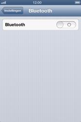 Apple iPhone 4 (iOS 6) - bluetooth - headset, carkit verbinding - stap 4