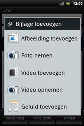 Sony Xperia Mini Pro - E-mail - E-mails verzenden - Stap 8