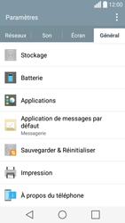LG Spirit 4G - Applications - Comment désinstaller une application - Étape 5