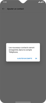OnePlus 7T - Contact, Appels, SMS/MMS - Ajouter un contact - Étape 9