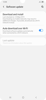 Samsung Galaxy A50 - Software - Installing software updates - Step 5