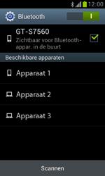 Samsung S7560 Galaxy Trend - bluetooth - aanzetten - stap 7