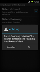 Sony Xperia J - Ausland - Im Ausland surfen – Datenroaming - Schritt 10