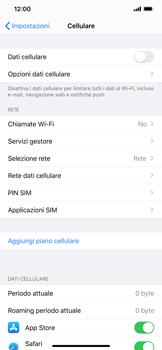 Apple iPhone 11 - Internet e roaming dati - Come verificare se la connessione dati è abilitata - Fase 4