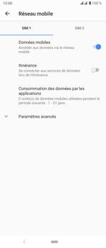 Sony Xperia 5 - Internet et roaming de données - Désactivation du roaming de données - Étape 8