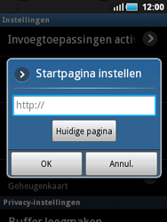 Samsung S5570 Galaxy Mini - internet - handmatig instellen - stap 16
