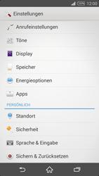 Sony Xperia Z2 - Apps - Eine App deinstallieren - Schritt 4