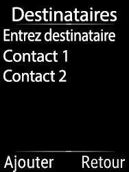 Doro 6620 - E-mails - Envoyer un e-mail - Étape 19