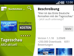 Sony Ericsson Xperia X10 Mini Pro - Apps - Herunterladen - Schritt 7