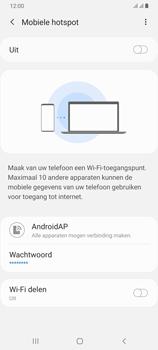 Samsung galaxy-a70-dual-sim-sm-a705fn - WiFi - Mobiele hotspot instellen - Stap 7