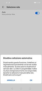 Huawei Nova 5T - Rete - Selezione manuale della rete - Fase 7