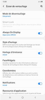 Samsung Galaxy A70 - Sécuriser votre mobile - Activer le code de verrouillage - Étape 5