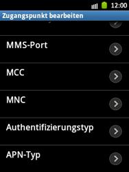 Samsung Galaxy Pocket - MMS - Manuelle Konfiguration - Schritt 13