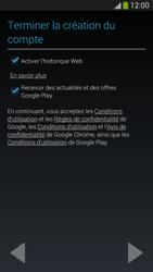 Samsung I9505 Galaxy S IV LTE - Applications - Créer un compte - Étape 18