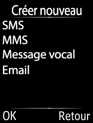 Doro 6620 - Contact, Appels, SMS/MMS - Envoyer un SMS - Étape 5