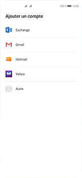 Huawei P40 - E-mails - Ajouter ou modifier votre compte Outlook - Étape 4