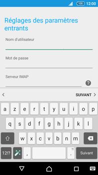 Sony Xperia Z5 Premium (E6853) - E-mail - Configuration manuelle - Étape 11