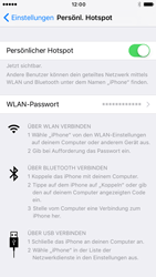 Apple iPhone 7 - Internet - Mobilen WLAN-Hotspot einrichten - 0 / 0