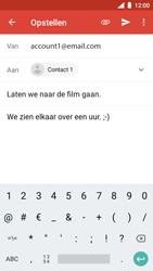 Nokia 5 - Android Oreo - E-mail - hoe te versturen - Stap 9