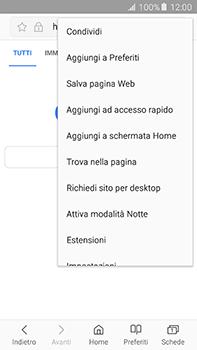 Samsung Galaxy A8 - Internet e roaming dati - Uso di Internet - Fase 8