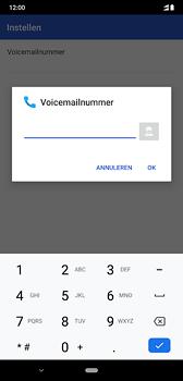 Nokia 8-1-dual-sim-ta-1119 - Voicemail - Handmatig instellen - Stap 11