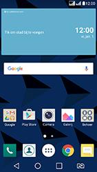LG K8 - Wifi - handmatig instellen - Stap 1