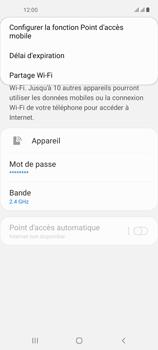 Samsung Galaxy A21s - Internet et connexion - Partager votre connexion en Wi-Fi - Étape 8