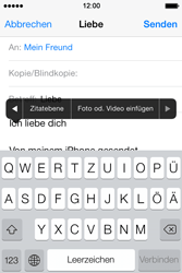 Apple iPhone 4 S - E-Mail - E-Mail versenden - 10 / 16