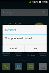 Alcatel Pixi 3 (3.5) - Mobile phone - how to perform a soft reset - Step 4