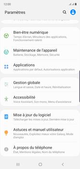 Samsung Galaxy Note10 - Appareil - Mises à jour - Étape 5