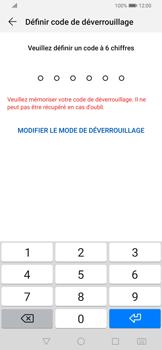 Huawei P Smart Z - Sécuriser votre mobile - Activer le code de verrouillage - Étape 6