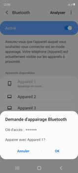 Samsung Galaxy S20 FE - Internet et connexion - Connexion avec un équipement multimédia via Bluetooth - Étape 9