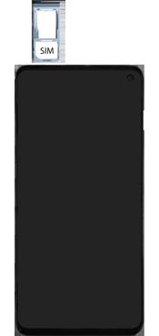 Samsung Galaxy S10e - Premiers pas - Insérer la carte SIM - Étape 4