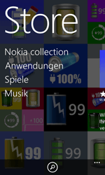 Nokia Lumia 1020 - Apps - Einrichten des App Stores - Schritt 4