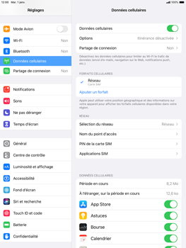 Apple iPad 10.2 - Internet - configuration manuelle - Étape 9