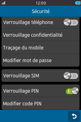 Samsung Wave M - Sécuriser votre mobile - Activer le code de verrouillage - Étape 6