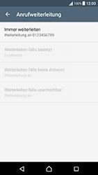 Sony Xperia X Performance - Anrufe - Rufumleitungen setzen und löschen - 8 / 9