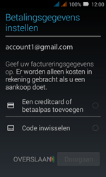 Huawei Y3 - Applicaties - Account instellen - Stap 16