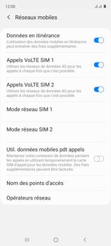 Samsung Galaxy A51 - Aller plus loin - Désactiver les données à l'étranger - Étape 6