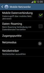 Samsung Galaxy Grand Neo - Ausland - Im Ausland surfen – Datenroaming - 8 / 12