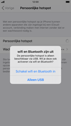 Apple iPhone 7 - iOS 13 - Internet - Stel mobiele hotspot in - Stap 7