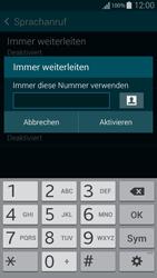Samsung Galaxy Alpha - Anrufe - Rufumleitungen setzen und löschen - 9 / 11