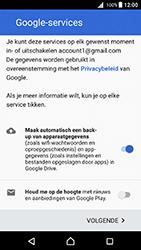 Sony Xperia X (F5121) - Android Nougat - Applicaties - Account aanmaken - Stap 17