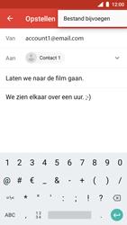 Nokia 5 - Android Oreo - E-mail - hoe te versturen - Stap 10