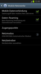 Samsung Galaxy Note II - Internet und Datenroaming - Deaktivieren von Datenroaming - Schritt 6