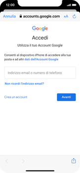 Apple iPhone X - iOS 13 - E-mail - 032a. Email wizard - Gmail - Fase 7